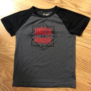 Kids Under Armour Tee Shirt Youth 6